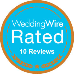 Wedding Wire Rated 10 reviews